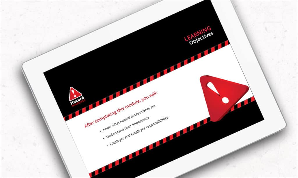 Contendo's Online Hazard Awareness Training
