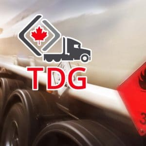 Online Transportation of Dangerous Goods Training (TDG)